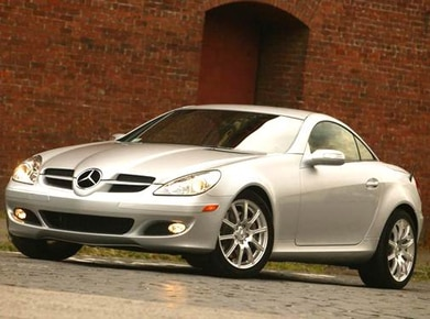 2005 Mercedes Benz Slk Class Pricing Ratings Expert Review
