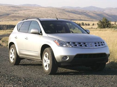 Nissan Murano Gas Mileage >> 2005 Nissan Murano Pricing Ratings Expert Review Kelley Blue Book