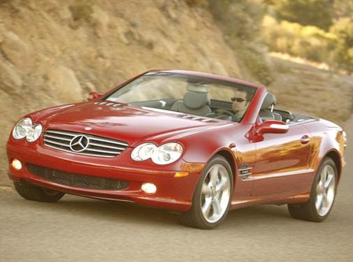 Used 2006 Mercedes-Benz SL-Class SL 600 Roadster 2D Prices   Kelley Blue Book