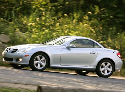 2006 Mercedes-Benz SLK-Class   Pricing, Ratings, Expert Review