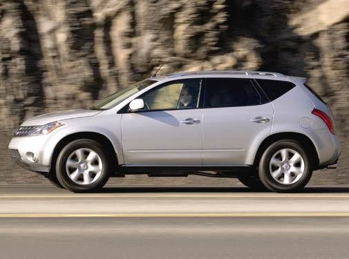 Nissan Murano Gas Mileage >> 2006 Nissan Murano Pricing Ratings Expert Review