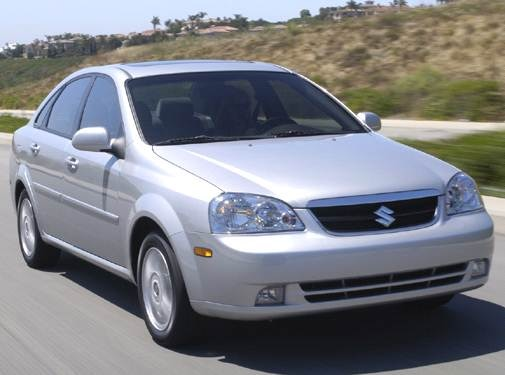 2006 Suzuki Forenza | Pricing, Ratings, Expert Review