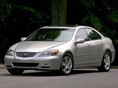2007 Acura RL | Pricing, Ratings, Expert Review | Kelley Blue Book