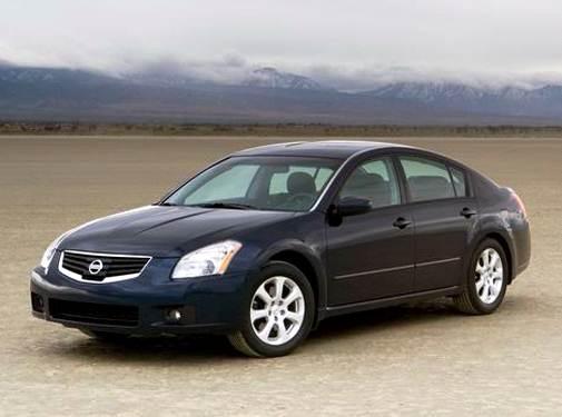 07 Nissan Maxima >> 2007 Nissan Maxima Pricing Reviews Ratings Kelley Blue Book