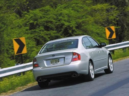 2007 Subaru Legacy | Pricing, Ratings, Expert Review