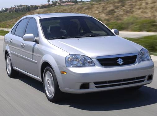 2007 Suzuki Forenza Pricing, Reviews & Ratings | Kelley Blue