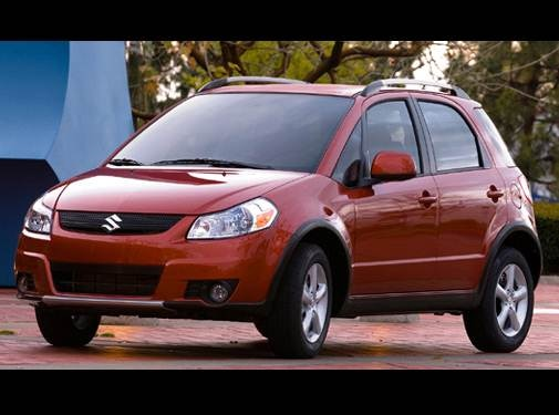 2007 Suzuki SX4 | Pricing, Ratings, Expert Review | Kelley Blue Book