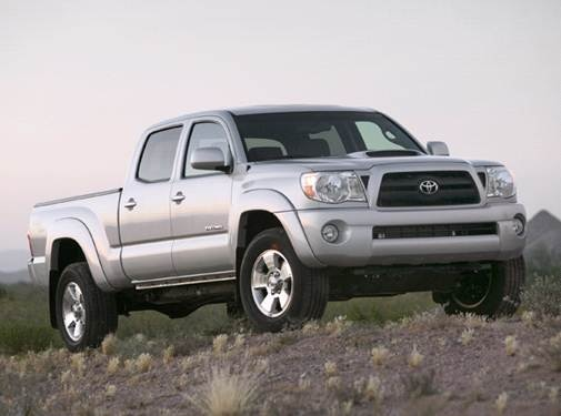 2007 Toyota Tacoma Double Cab   Pricing, Ratings, Expert