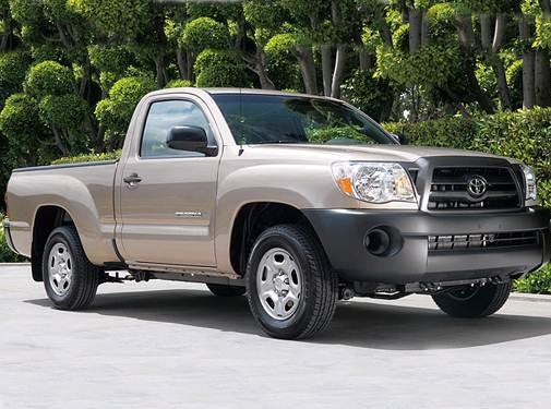 2007 Toyota Tacoma Regular Cab Pricing Ratings Expert