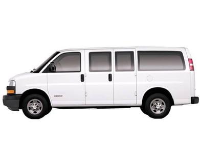 Chevy Express Van >> 2008 Chevrolet Express 2500 Passenger Pricing Reviews