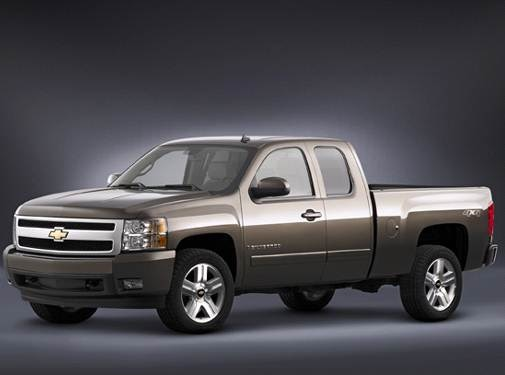 2008 Chevrolet Silverado 1500 Extended Cab Pricing Ratings