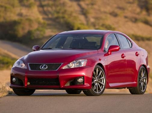 2008 Lexus IS F | Pricing, Ratings, Expert Review | Kelley Blue Book