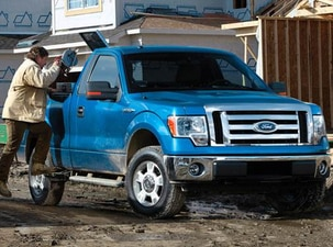 Used 2009 Ford F150 Regular Cab Xl Pickup 2d 8 Ft Prices Kelley Blue Book