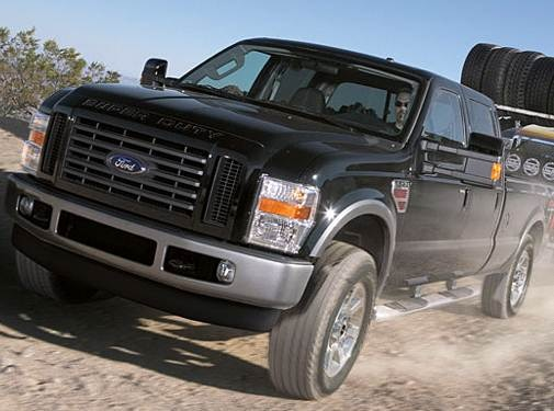 2009 Ford F350 Super Duty Crew Cab Pricing Ratings