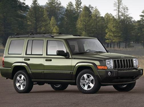 2009 Jeep Commander Pricing Ratings Expert Review Kelley Blue Book