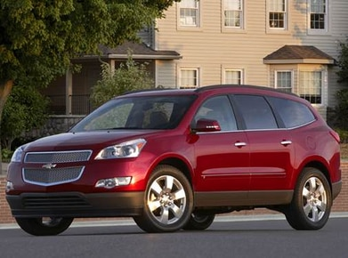 2010 Chevrolet Traverse | Pricing, Ratings, Expert Review