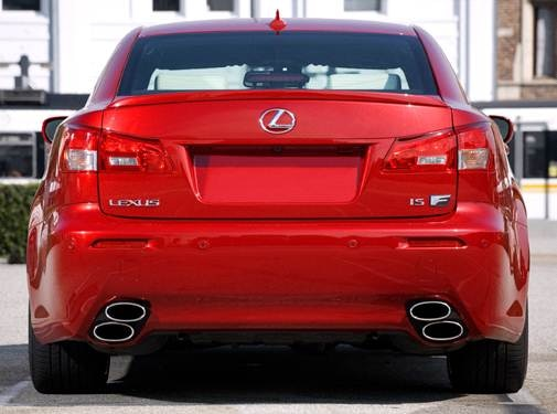 2010 Lexus IS F | Pricing, Ratings, Expert Review | Kelley Blue Book