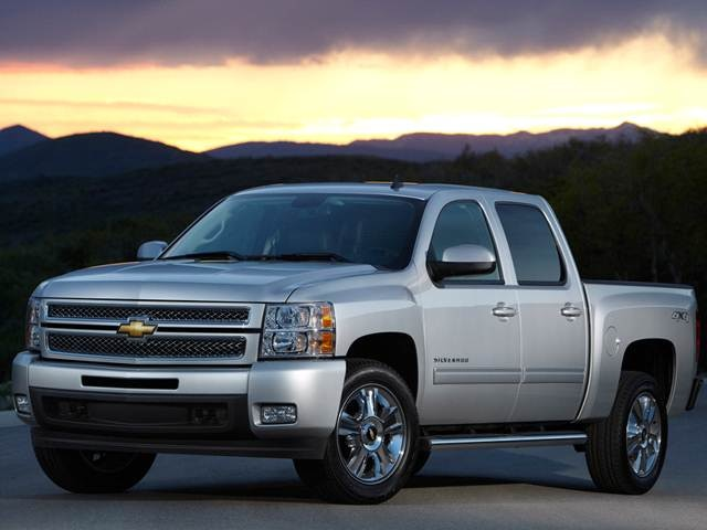 2012 chevrolet silverado 1500 crew cab pricing, ratings, expert  big blue jacked up chevy truck #10