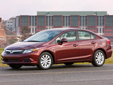 2012 Honda Civic Pricing, Reviews & Ratings | Kelley Blue Book on