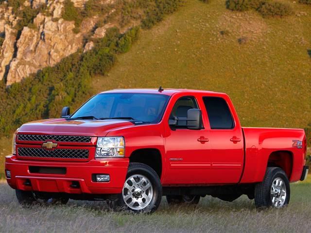 2013 Chevrolet Silverado 2500 HD Crew Cab | Pricing, Ratings