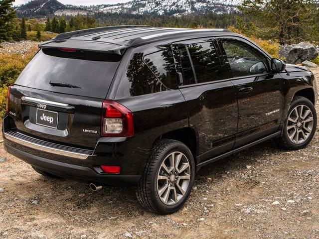 Used 2014 Jeep Compass High Altitude Edition Sport Utility 4d
