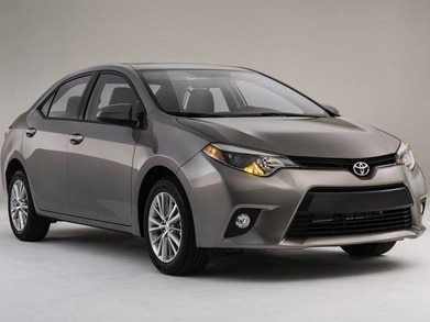 Toyota Corolla Gas Mileage >> 2014 Toyota Corolla Pricing Reviews Ratings Kelley Blue