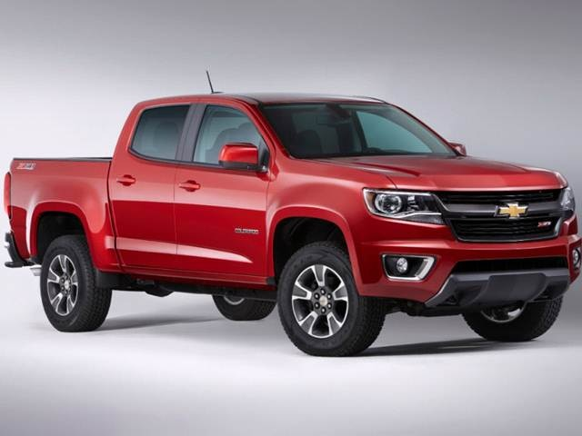 2015 Chevrolet Colorado Crew Cab Pricing Ratings Expert