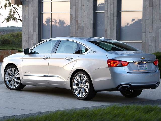 2016 Chevy Impala Ltz >> 2016 Chevrolet Impala Pricing Reviews Ratings Kelley
