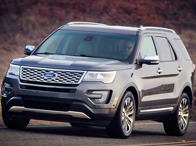 2016 Ford Explorer | Pricing, Ratings, Expert Review | Kelley Blue Book
