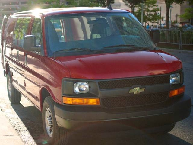 2017 Chevrolet Express 2500 Cargo   Pricing, Ratings, Expert Review