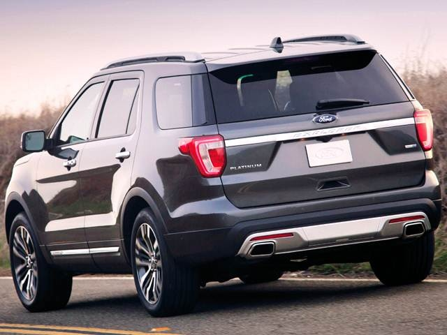 Used 2017 Ford Explorer Values Cars