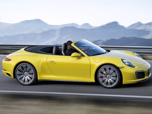 Used 2017 Porsche 911 Carrera 4s Cabriolet 2d Prices Kelley Blue Book