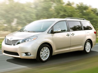 2017 Toyota Sienna | Pricing, Ratings, Expert Review | Kelley Blue Book