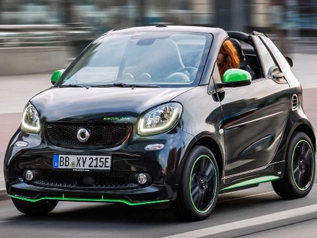 2017 smart fortwo electric drive cabrio