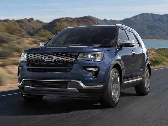 2018 Ford Explorer | Pricing, Ratings, Expert Review | Kelley Blue Book