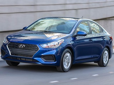 Hyundai Accent Mpg >> 2018 Hyundai Accent Pricing Ratings Expert Review Kelley Blue Book