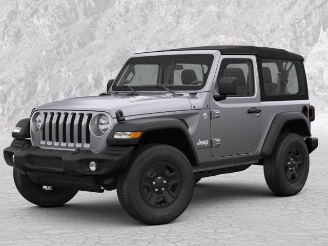 2019 Jeep Wrangler 2 Door Black