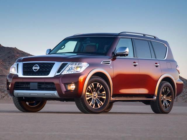 2019 Nissan Armada Values Cars For Sale Kelley Blue Book