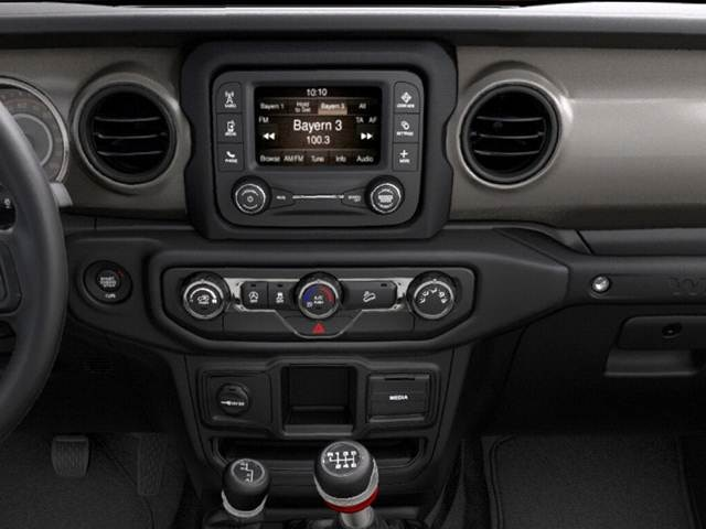 2020 Jeep Wrangler Unlimited Sport Interior