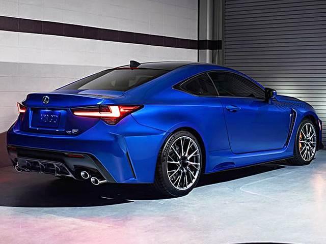 2020 Lexus Rc 350 Blue