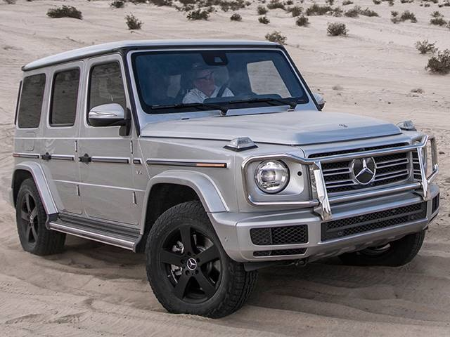 Jeep Inside 2020 Mercedes Benz G Class