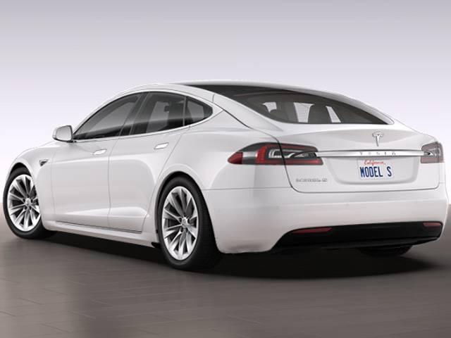 Tesla Model S Rear Floor Trim