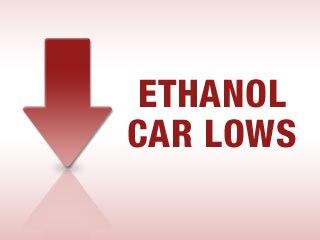 Ethanol Car Lows