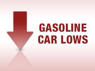 Gasoline Car Lows