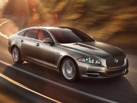 Jaguar XJ Series - Profile (Coast)