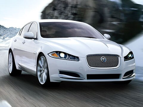 Jaguar XF - White