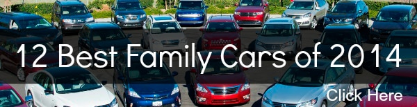 12 Best Family Cars 2014