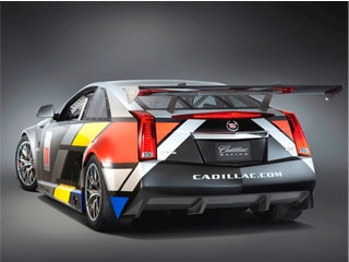 Cadillac Cts V Coupe World Challenge Racer 2011 Detroit Auto Show
