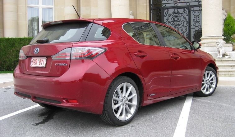 2011 Lexus CT 200h Rear