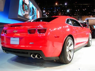 2012 Chevrolet Camaro ZL1 - 2011 Chicago Auto Show (w/video ...